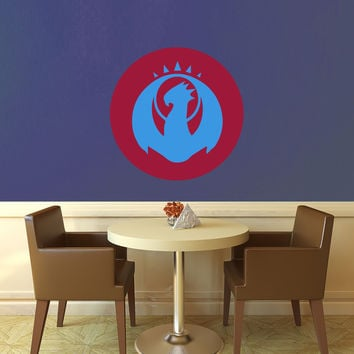 Izzet Symbol - Ravnica - Magic the Gathering Wall Decal - Layered Full Color