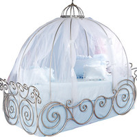 Disney Princess 4 Pc Twin Carriage Bed