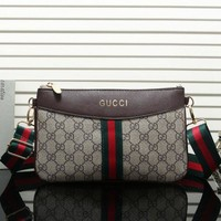 Gucci New Fashion Women Leather Satchel Bag Shoulder Bag Crossbody