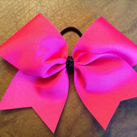 Practice Cheer Bow - Hot Pink