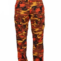 Rothco Color Savage Orange Camo Tactical BDU Pants