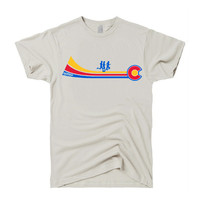RUN YO RUN COLORADO FLAG T-SHIRT