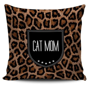 Pillow Covers 5 Each Cat Mom Dad