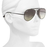 Ray-Ban 61mm Gradient Lens Aviator Sunglasses | Nordstrom