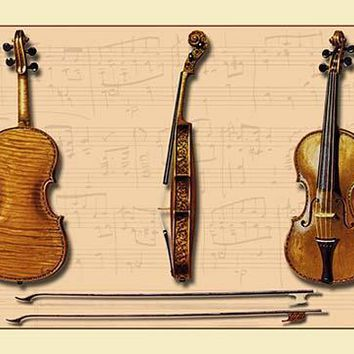 The Hellier Stradivarius and Two Old Bows