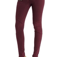 2B Chloe Zipper Skinny Jean 2b Denim Crushed Berry-29