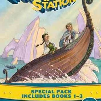 Voyage With the Vikings/Attack at the Arena/Peril in the Palace: Special Pack Include Book 1 to 3 (Adventures in Odyssey the Imagination Station)