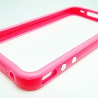 Pink Bumper Case for Apple iPhone4