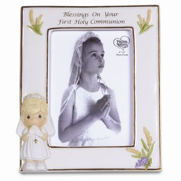 Precious Moments Blessings Girls First Holy Communion Photo Frame