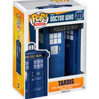 "Funko Doctor Who Pop! Television TARDIS 7"" Vinyl Figure"