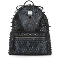 MCM Medium Spikes and Studs Backpack | Harrods
