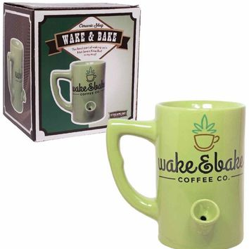 Wake & Bake Ceramic Coffee Mug