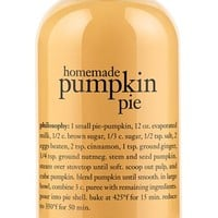 philosophy 'homemade pumpkin pie' shampoo, shower gel & bubble bath | Nordstrom