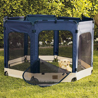 Soft Side Outdoor Pet Exercise Pen