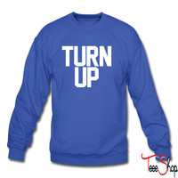 Turn up sweatshirt