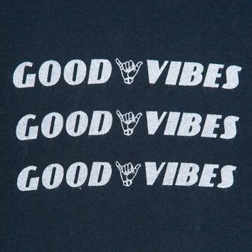 Jamie Good Vibes Top - Prints - Graphics