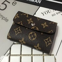 LV X Burberry X Gucci Popular Simple Leather Monogram Canvas Multiple Bank Card Pack Certificate Holster Card Set Credit Card Holder Card Package I12550-5