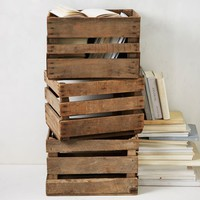 Apple Crates - Natural