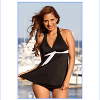 Sicilian Two Piece Swim Dress
