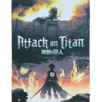 Attack On Titan Fabric Poster