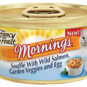 Fancy Feast Mornings Souffle Salmon, Veggies & Egg 24/3oz