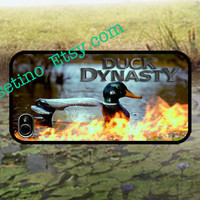 Duck Dynasty Fire iPhone 4 case, iPhone 4S case, Hard Plastic Case, Iphone Cover, duck ,Fire
