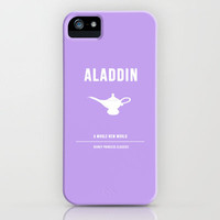 Disney Princesses: Aladdin Minimalist iPhone Case by ofalexandra | Society6