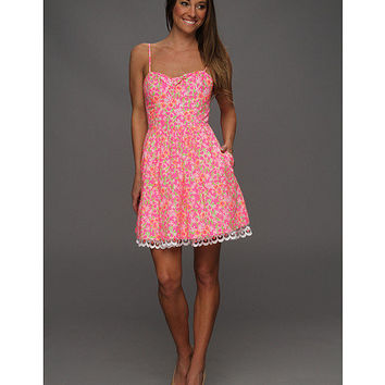 Lilly Pulitzer Macauley Dress Fiesta Pink Everything Nice Small - Zappos.com Free Shipping BOTH Ways