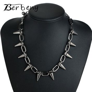 Rivets CBB material Chokers Punk Goth Handmade Choker Necklace S 9709950295
