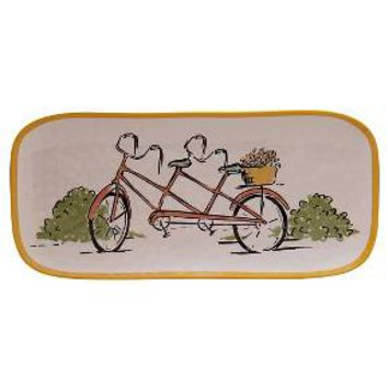 Threshold™ Rectangular Small Platter - Bike : Target