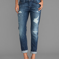 True Religion Cameron High Rise Boyfriend in Native Vintage
