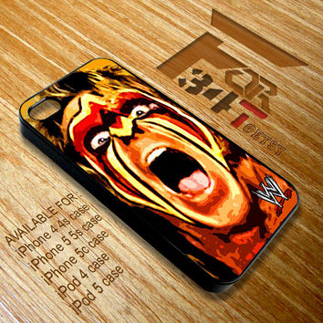 Apple iPhone and iPod case cool Ultimate Warrior Nation WWE smackdown legend face iphone 4 4s, iphone 5 5s 5c, iPod touch 4, ipod 5 case