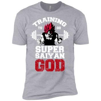 training to super saiyan god  T-Shirt