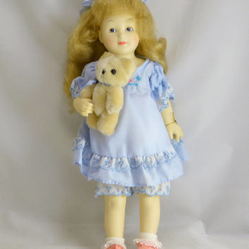 Goldy Locks Doll - Bessie Pease Gutmann - Teddy Bear Box COA - The Heirloom Tradition 309