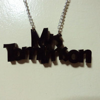 One Direction Necklace - Mrs Tomlinson