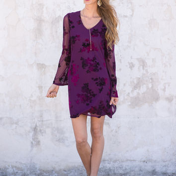 Sweet Beginnings Floral Dress