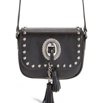 Saint Laurent 'Small Kim' Calfskin Crossbody Bag | Nordstrom