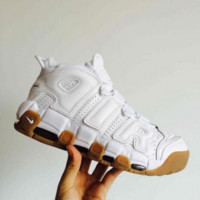 Nike Air More Uptempo Big R Scottie Pippen White Sport Basketball Shoes G-FEU-SY