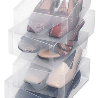 Whitmor 6362-2691-4 Clear Vue Collection Women's Shoe Box, Set of 4: Amazon.ca: Home & Kitchen