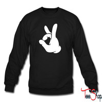 Rock Out Hand crewneck sweatshirt