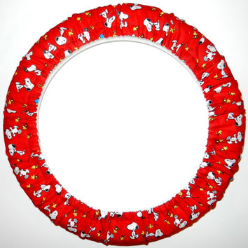 Peanuts Gang Steering Wheel Cover