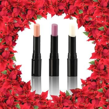 1pcs beauty red lipsticks Lip Gloss makeup waterproof 3 color lipstick cosmetic long lasting Change Color Lipstick 100%