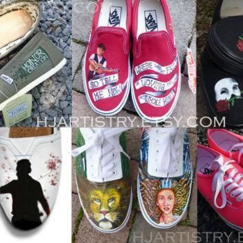 custom painted shoes vans authentic vans slip on toms converse design your own