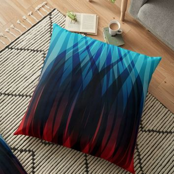 'Russian Pattern 3' Floor Pillow by hypnotzd