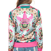 The Farm Track Top in Borboflor Print