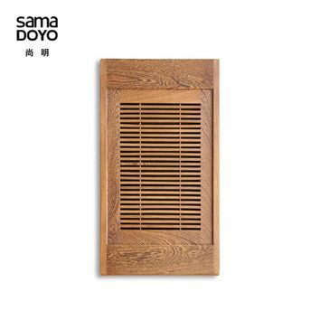DCCKJG2 Teasaga Samamoko High-end African Wenge Tea Tray Solid Wood Tea Table with Water Pallet