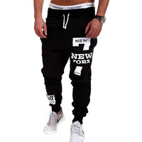 Men Joggers Male Trousers Men Pants Casual Pants Sweatpants Jogger Black XXXL