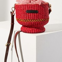 AAKS Baw Pot Rouge Bucket Bag