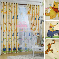 Eco-friendly Child Cartoon Curtain Window curtain baby Customize Finished Curtaint Kids Curtain For Children Princess