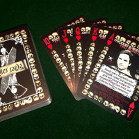 Serial Killer Playing Cards - 54 American killers Poker set / Collectors Item
